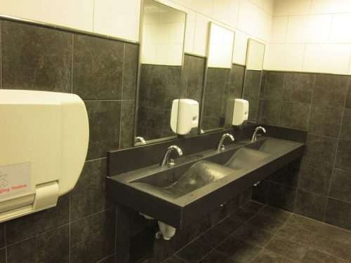ADA compliant sink - wheelchair accessible