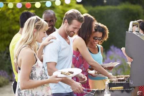 Grilling is about socializing not slaving over a grill. Never worry about running out of propane again.