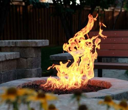 Fire up the pit for relaxing, outside evenings with family and friends. Let Suncoast Plumbing install a gas line for your gas fire pit.