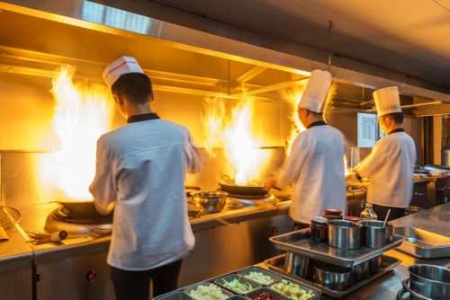 The importance of a safe gas line in a commercial kitchen