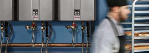 Rinnai commercial tankless water heater